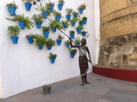 Bronze Statue Cordoba Spain