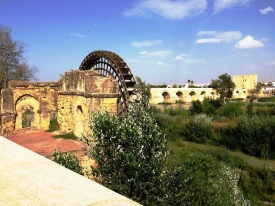 Ancient Water Wheel Cordoba Spain