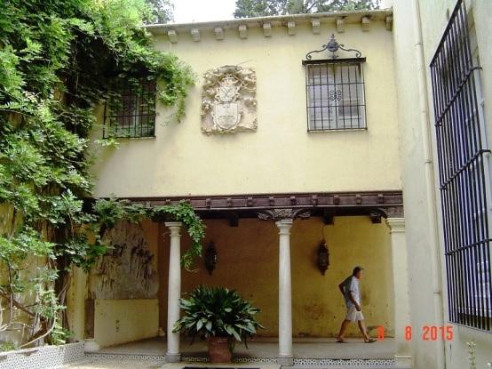 Entrance in Granada Spain