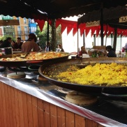 Festival in Portugalete Spain