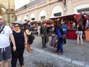 Festivities in Portugalete Spain