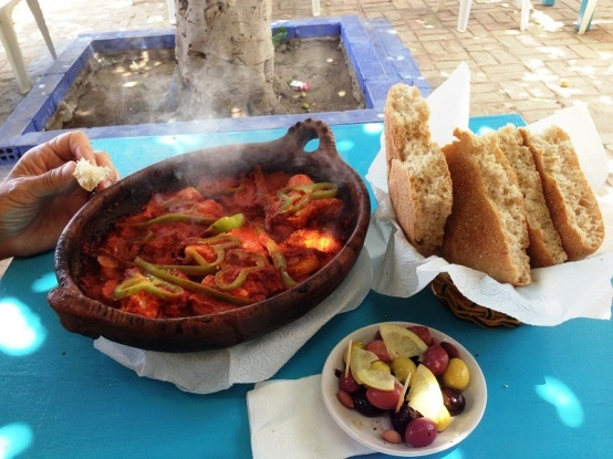 Fish tagine in Assilah Morocco