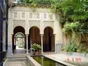 Gardens in Granada Spain