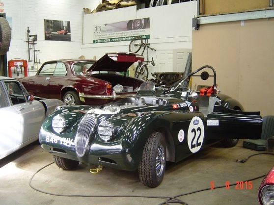 Jaguar Workshop - Buckingham UK