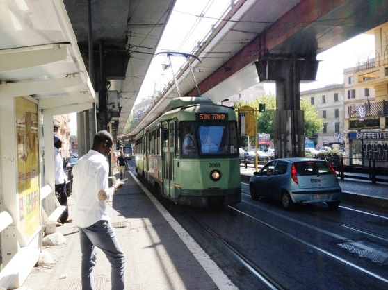 Rome Tram to Central