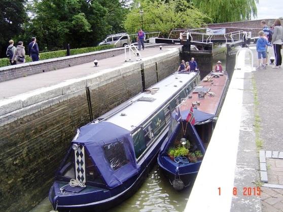Stoke Bruerne UK Canal Boats