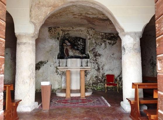 Cave Church in Caltabellotta Sicily