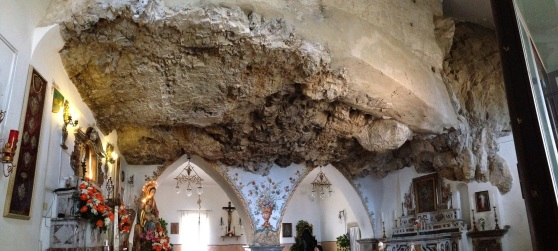 Cave Church in Castelmola Sicily
