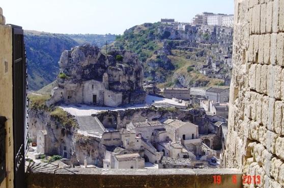 Cave Church in Matera Sassi
