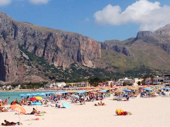 Beach umbrellas - San Vito Lo Capo