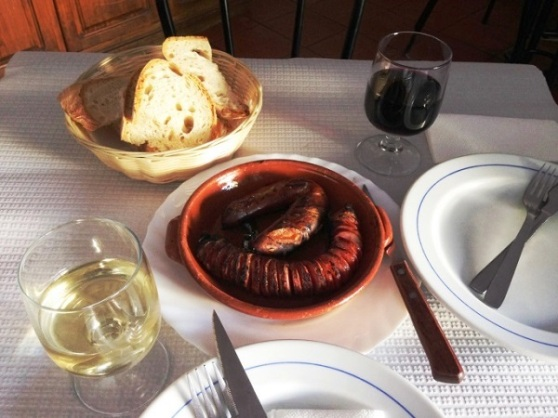 Smoked Pork Sausage - Evora Portugal
