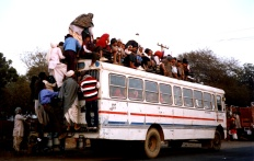 Local busing in India