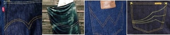 Pocket Detail - Blue Denims