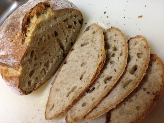 Holey Sourdough White Bread