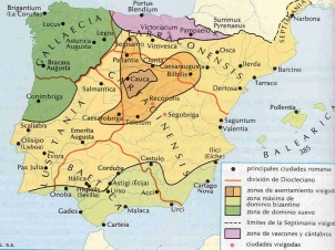 Map - Baetica