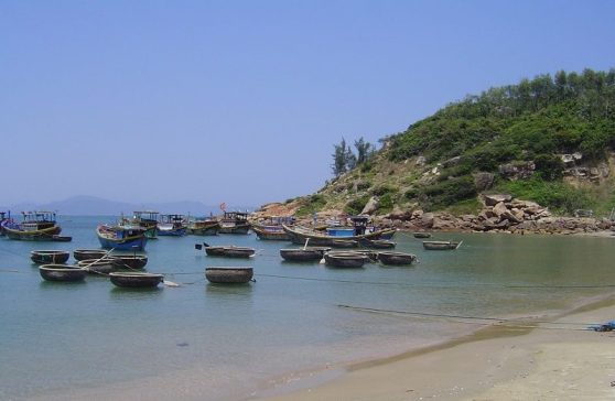 Vietnam - its coastline dotted with fishing villages