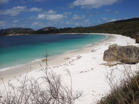 A beach for solitude