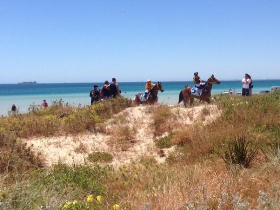 Rockingham Beach Horse Racing Event