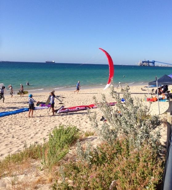 Rockingham Beach Hydrofoil Kite Surfing Championships