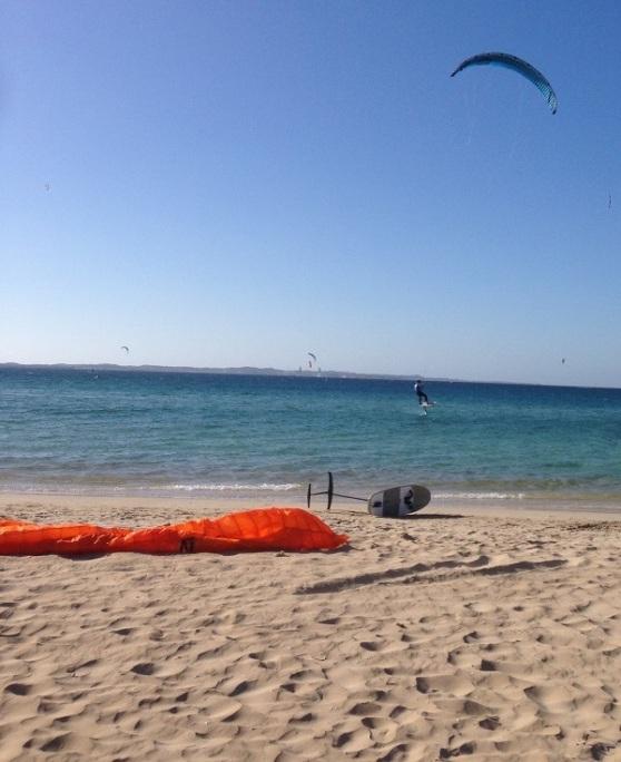 Kite Surfing Competition - Rockingham Beach