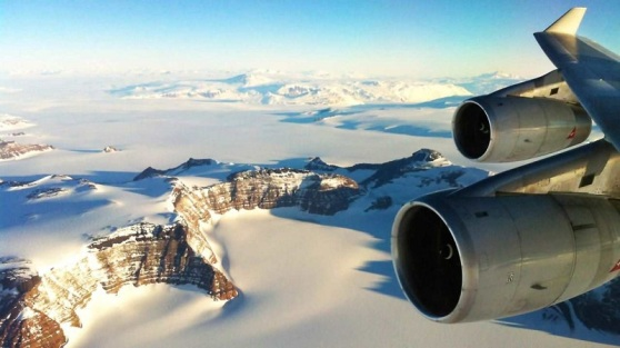 Antarctic scenic flights