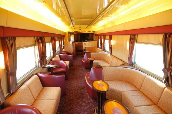 Lounge Train Carriage