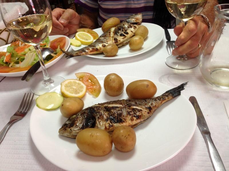 Portugal Cacilhas - sea bass