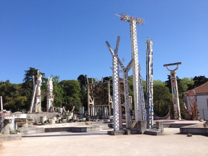 Portugal Caldas da Reihna- ceramic tiled playground