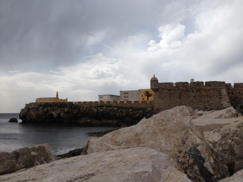 Portugal Peniche fort
