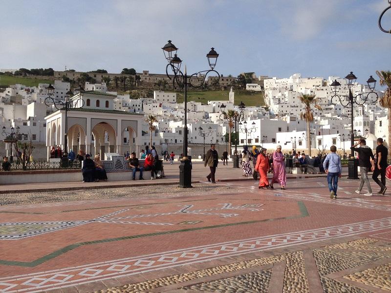 Maroc Tetuoan - central plaza