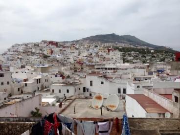Maroc Tetuoan - roof top scenery