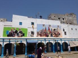 Maroc Larache - village market