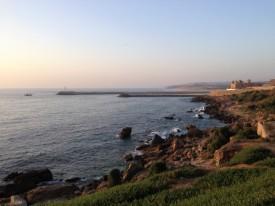 Maroc Larache - coastal view