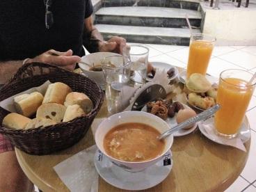 Maroc Larache - breaking fast on ramadan