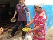 Maroc Larache - chicken casserole to be cooked in communal oven