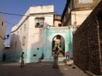 Maroc Ouezzane - back streets