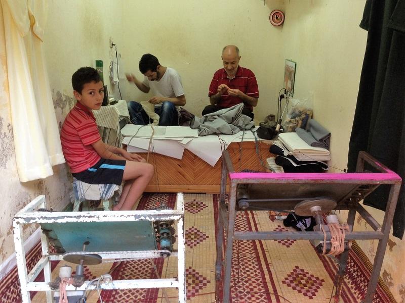 Maroc Ouezzane - tailors