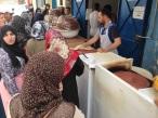 Maroc Tetouan - local market - fresh pastry making