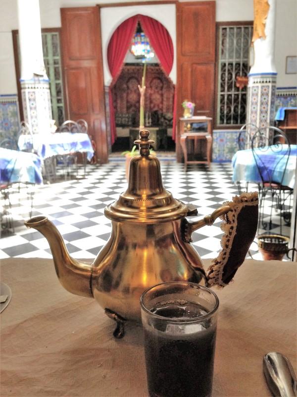 Maroc Tetouan - mint tea