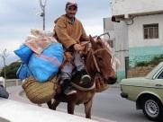 Maroc Tetouan - local farmer with produce