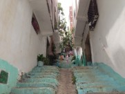 Maroc Tetouan - local side street cleaning