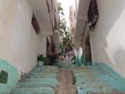 Maroc Tetouan - local side street cleaning