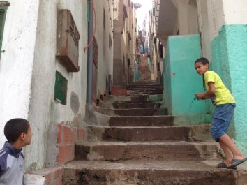 Maroc Tetouan - local side street