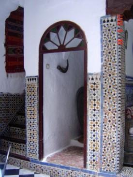 Maroc Tetouan - mosaic tile work