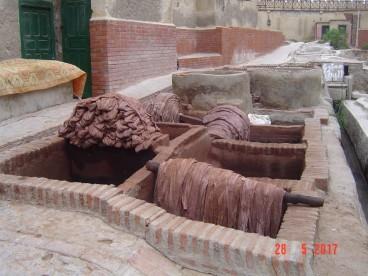 Maroc Tetouan - leather tannery