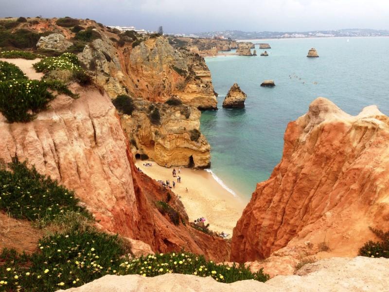 Portugal Lagos coastal walk