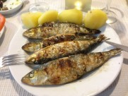Portugal Porto Brandau - sardinas and potatoes