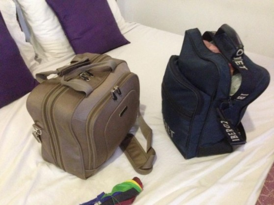 Our luggage for a month