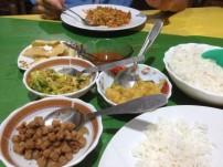 Vegetable curry and rice - Sri Lanka