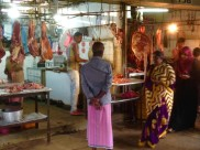 Local meat market - Kandy